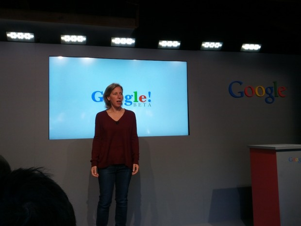 Susan Wojcicki At Google garage in Menlo Park