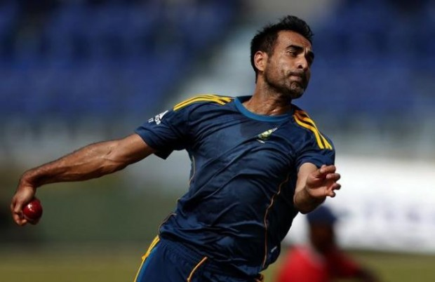 Imran Tahir During Practice