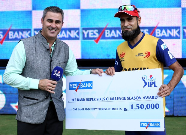Imran Tahir Receives Man Of The MAtch Award