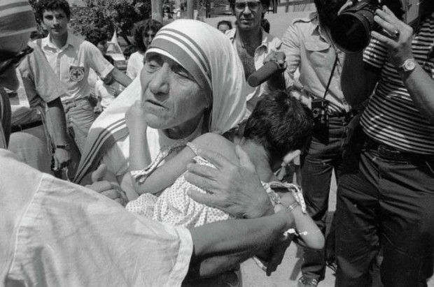 Mother Teresa dedicated her life to caring for the sick and needy