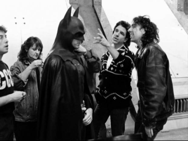 Tim Burton While Making Batman Movie
