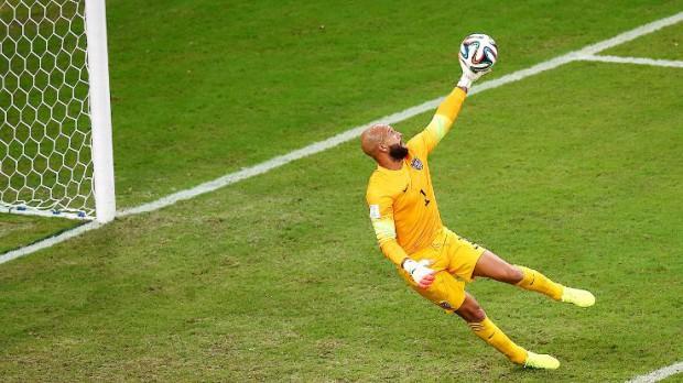 Tim Howard's super save against Portugal