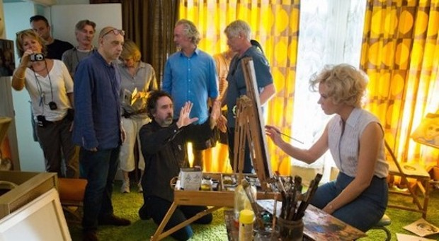 Tim Burton Directing 'Big Eyes'