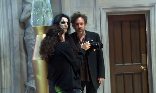 Tim Burton With Eva Green