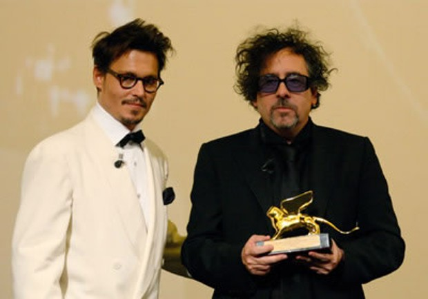 Tim Burton Gets Life Time Achievement Award