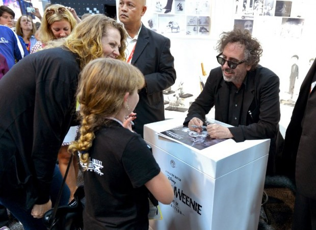 Tim Burton at event of Frankenweenie