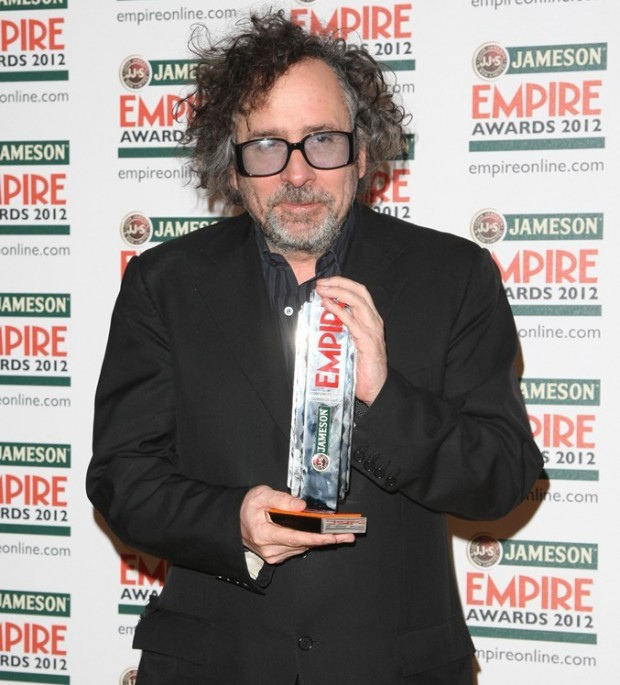 Tim Burton Receiving the Empire Legend Award