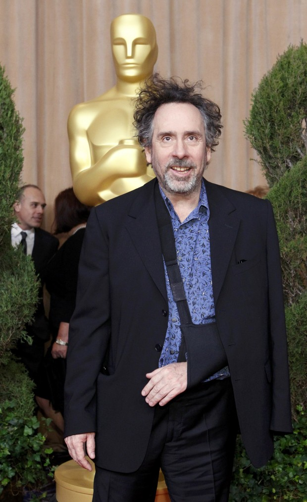Tim Burton at Oscars