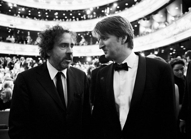 Tim Burton and Tom Hooper