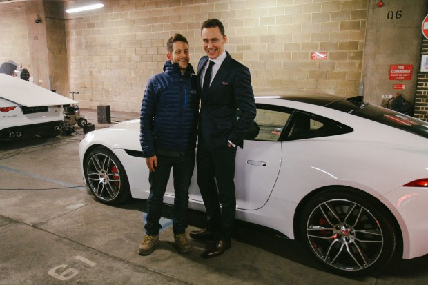 Tom during Jaguar Cars Promo