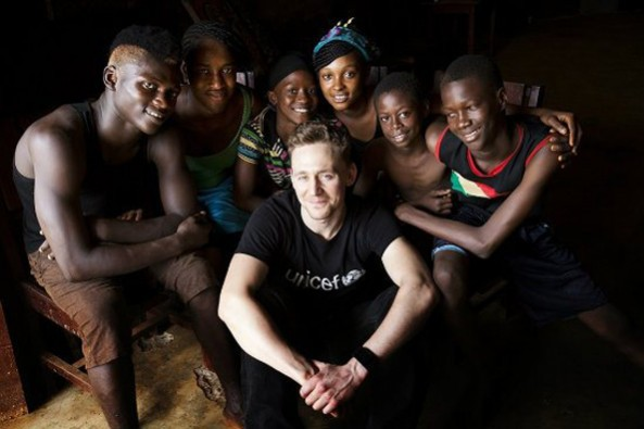 Tom for UNICEF in West Africa