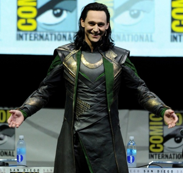 Tom as Loki at Comic-Con