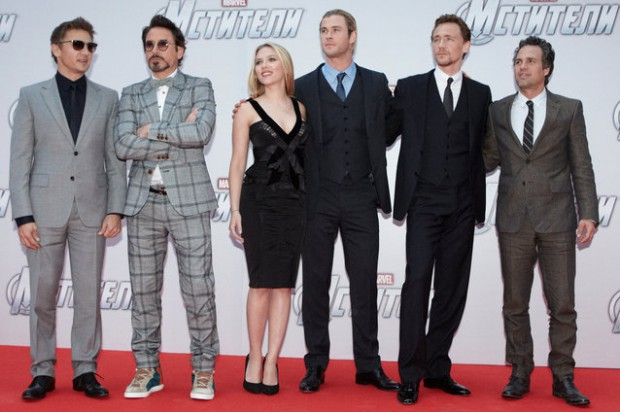 Tom and the other Avengers Cast