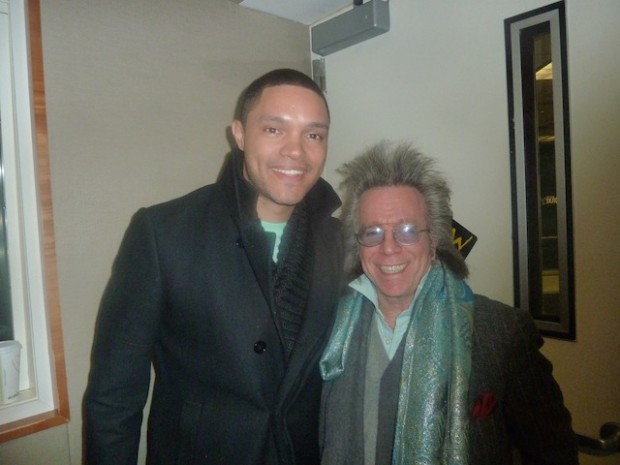 Trevor Noah with Jeffrey Gurian