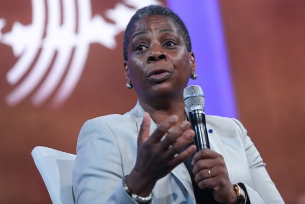 Ursula Burns speaks at the Clinton Global Initiative Annual Meeting
