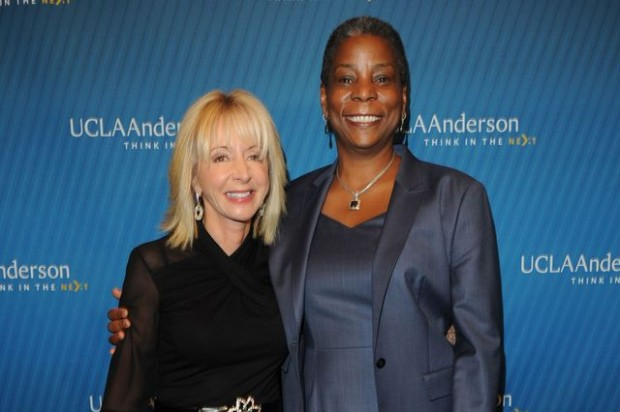 Ursula Burns and Dean Judy Olian