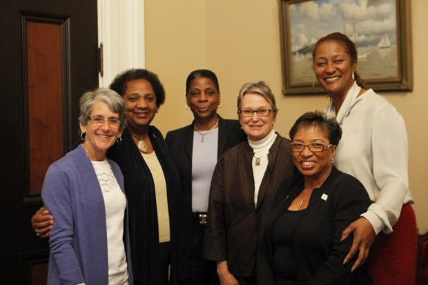 LWC meets with first African Amercian female CEO  Ursula Burns