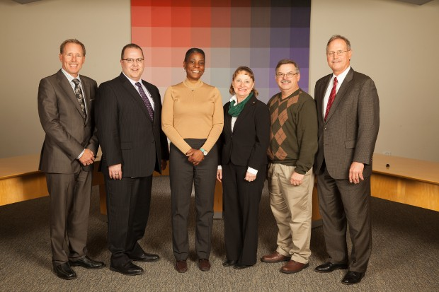 Xerox Social Service Leave recipients with CEO Ursula Burns