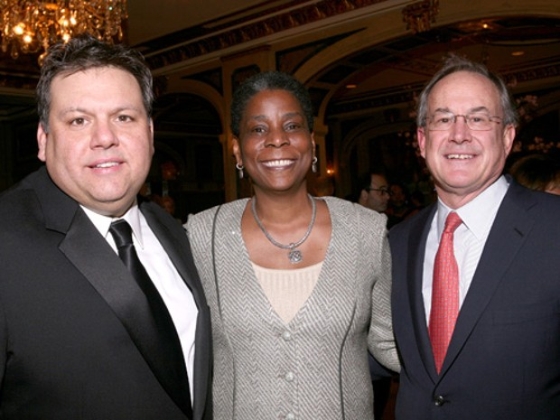 David Garza, Ursula Burns and Pete Ruegger