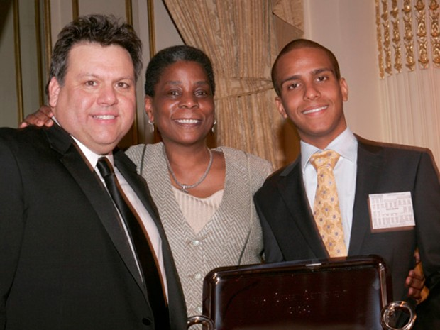 David Garza, Ursula Burns and David Santos