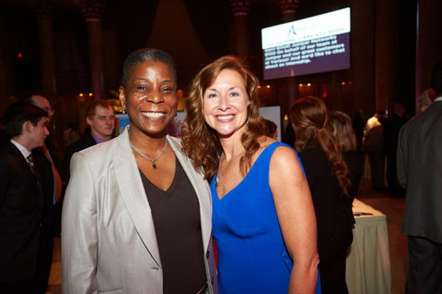 Ursula Burns With Kim Standish