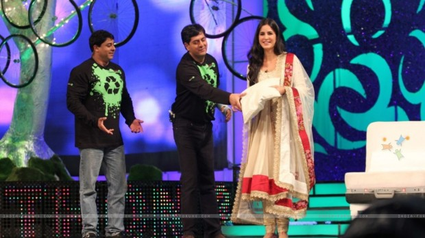 Vikram Chandra and Katrina Kaif For NDTV Greenathon