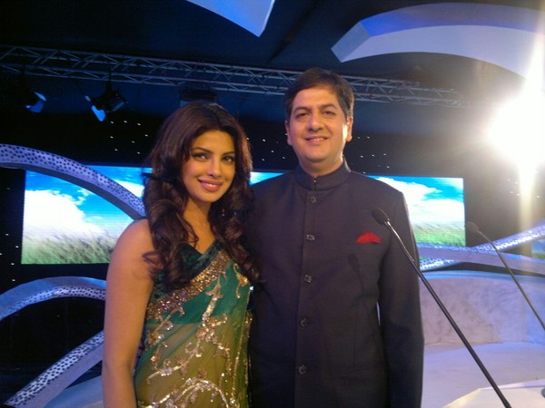 Bollywood Actress Priyanka Chopra with Vikram