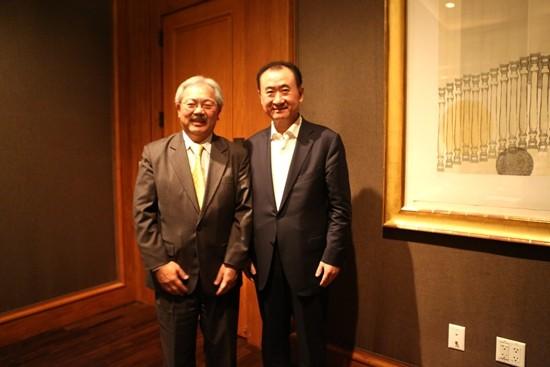 San Francisco Mayor meets with Wang Jianlin