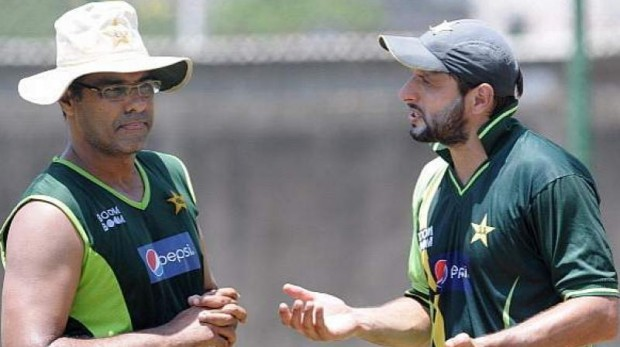 Afridi in Conversation with Waqar Younis