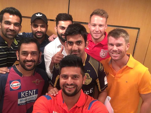 Warner and other IPL team captains
