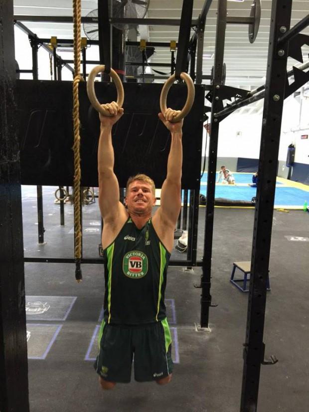 Warner's workouts