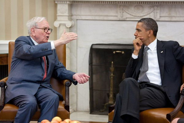 Warren Buffett in conversation with Obama