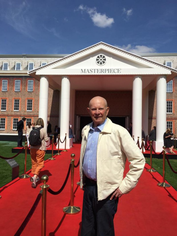 Wilbur Smith at London Masterpiece