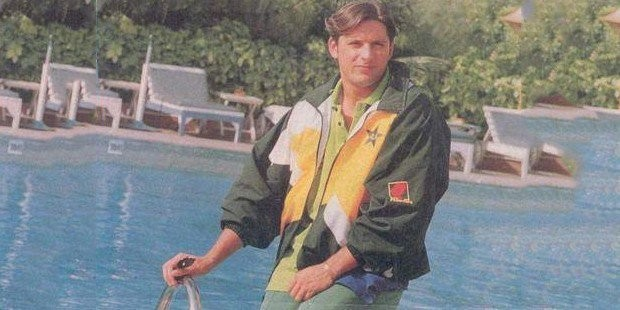 Young Shahid Afridi