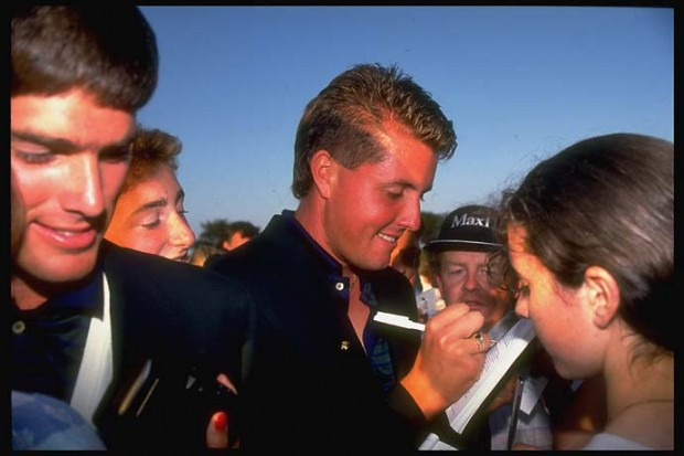 Young Phil in 1991