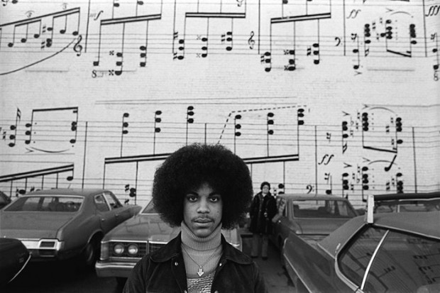 Prince in his early career days