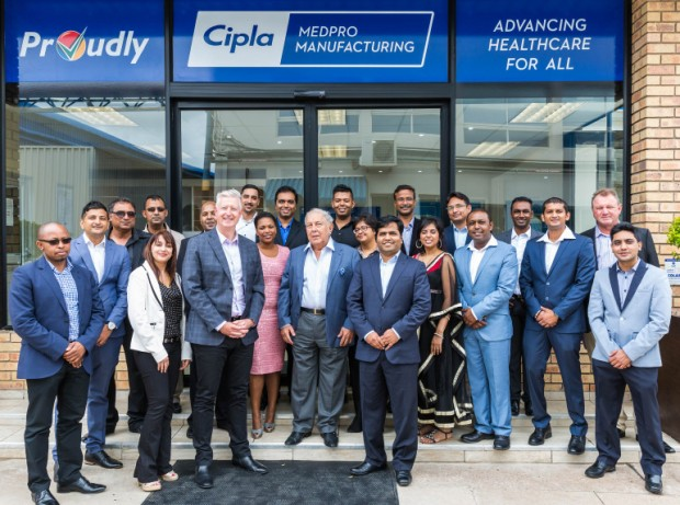 Yusuf Hamied at Cipla in South Africa