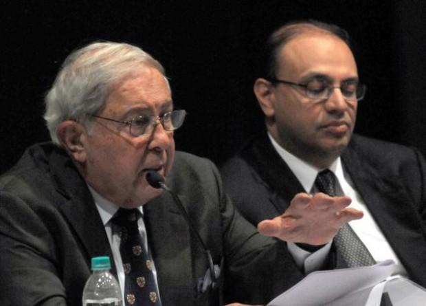 Yusuf K. Hamied with Subhanu Saxena