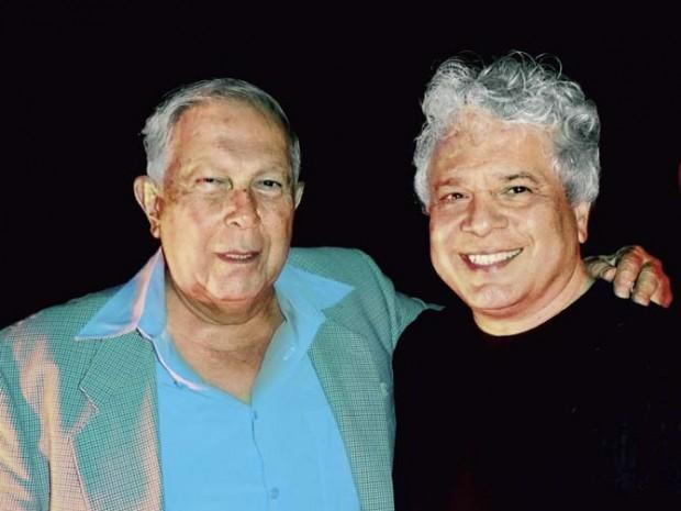 Dr Yusuf Hamied with Suhel Seth