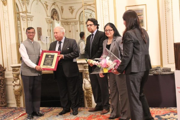 Yusuf Hamied Awarded with Jawaharlal Nehru Lifetime Achievement Award for Medicine, Public Health and Allied Sciences