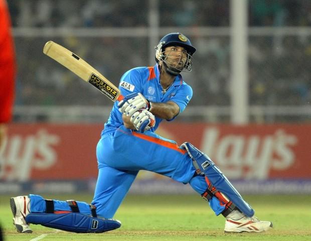 Yuvraj Singh Batting