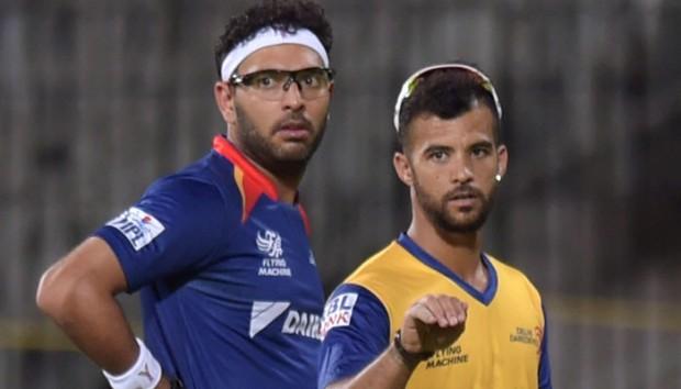 Yuvraj Singh and JP Duminy