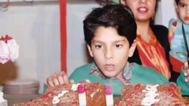 Yuvraj Singh Childhood Photo