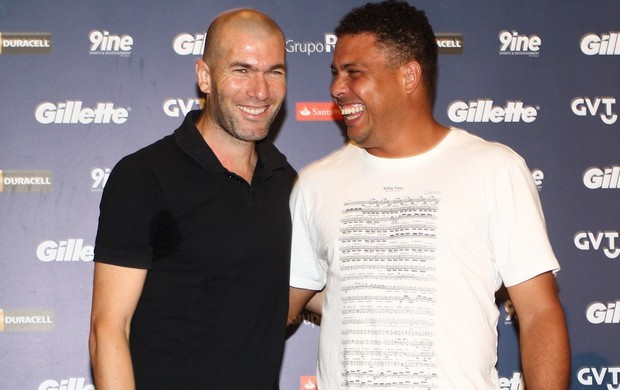 Ronaldo and Zinedine