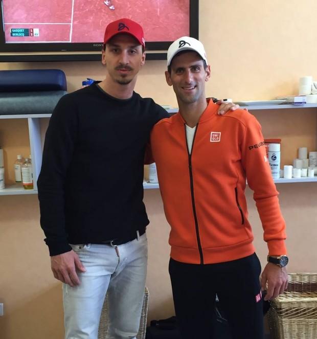 Djokovic and Zlatan