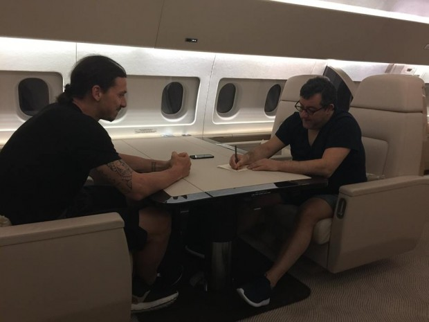 Mino Raiola and Zlatan