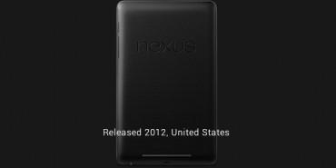 Nexus Tablet Story