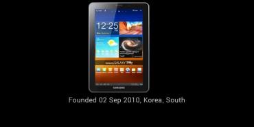 Galaxy Tab Story