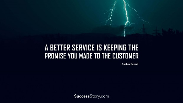 A Better Service Is