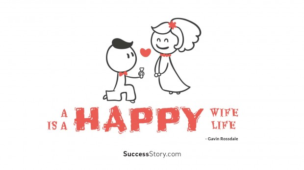 A happy wife is a